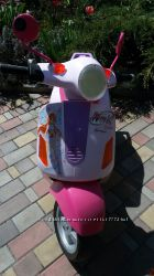 Електромобіль мотоцикл Peg-Perego Vespa Winx