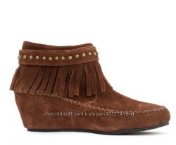 ALDO замшевые ботинки р. 38, 5