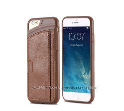 Кожаный чехол для Iphone 66S