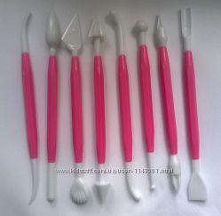 Набор инструментов для лепки и моделирования 8 шт