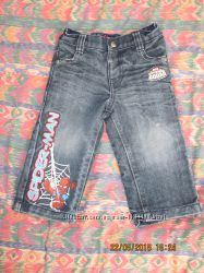 Классные джинсы на мальчика, 9-12 мес. , можно дольше как капри