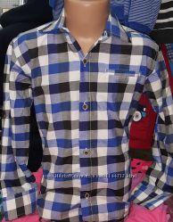 Стильные рубашки на мальчика от 5 до 12 лет