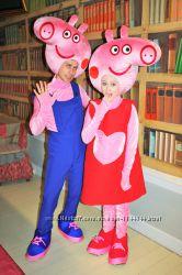 День рождения со Свинкой Пеппой и Джорджем