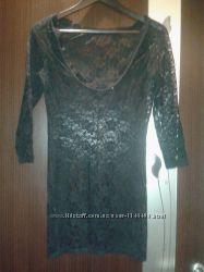 Рубашка ночная кружево