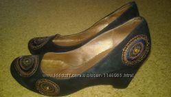 Туфли из натурального замша. Снизила цену