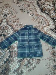 Пальто с флисовый подкладкой