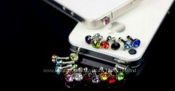 Заглушки для разъема в наушники, аудио-порт - маленький алмаз