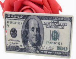 USB флэш-накопитель кредитная карта - 100 долларов