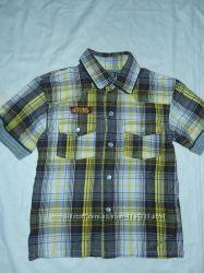 Rebel 3-4 года, 104 см, стильная рубашечка на лето, состояние новой