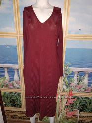 Актуальное длинное платье, р-р 16, на наш 50-52 в идеале