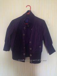 Легкая курточка с коротким рукавом Miley cyrus max azria