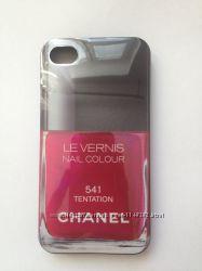 Чехол лак Chanel на Iphone 4-4s
