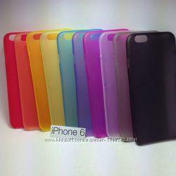 Ультратонкий пластиковый чехол на Iphone 6