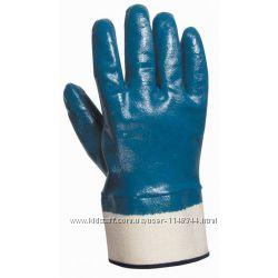 Перчатки МБС нитриловые  с твердым манжетом