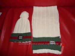 Набор шапка шарф Gucci, Италия
