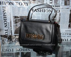 Рюкзак-сумка женская Moschino, кожа, Италия