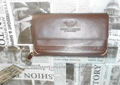 Клатч-сумка мужская Armani, кожа, Италия