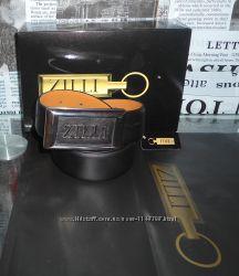 Ремень пояс Zilli, кожа, Франция, Оригинал