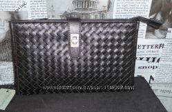 Клатч-сумка мужская Bottega Veneta, кожа, Италия, оригинал