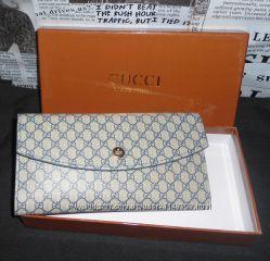 Кошелек женский Gucci, кожа, Италия
