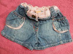 Модные джинсовые шорты для девочки