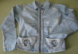 Оригинальная джинсовая куртка ветровка