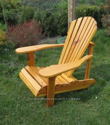 Кресло садовое адирондак .