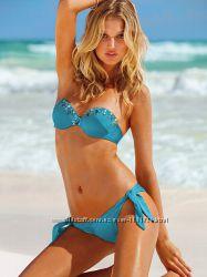Victorias Secret новый купальник с украшением, верх бандо.
