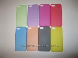 Чехол для iPhone Айфон 5, 5S - разные цвета