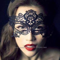 Кружевная маска на лицо для маскарада