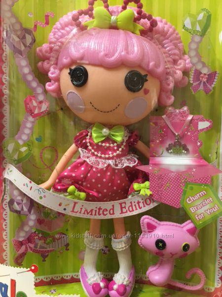 Кукла LALALOOPSY серии Lalabration- Принцесса Блестинка