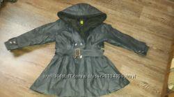 Кожаные пальто и плащ