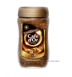 Кофе растворимый Cafe d&acuteOr Gold 200г