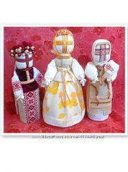 Авторские интерьерные куклы-мотанки, ляльки. Оберег. Натуральные винтажные