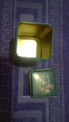 Новая стильная жестяная сертифиц. баночка под чай в китайском стиле