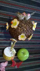 Кофейное дерево топиарий