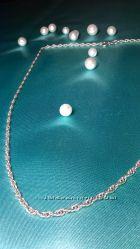 цепочка витая серебро 925