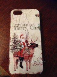 Чехол Рождество на iphone 5