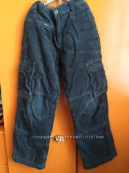 Вельветовые штаны. Рост 140