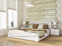 Кровать из натурального Бука Селена Аури с подъемным механизмом с Доставкай
