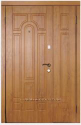Дверь входная полуторная металлическая модель 110 серии Премиум