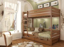 Кровать двухъярусная Дуэт со скидкой и Бесплатной доставкой