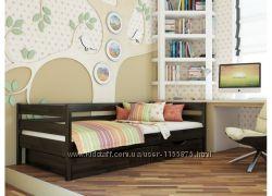 Кровать детская деревянная Нота от Эстелла дерево Бук Бесплатная доставка