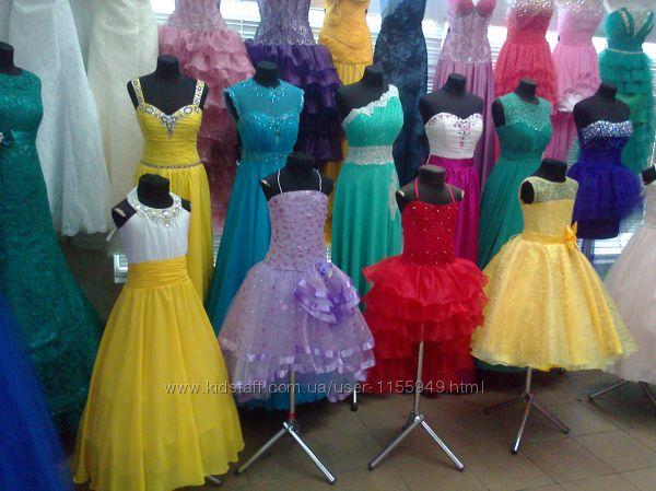 Бальные платья на выпускной в 4 класс