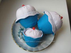 интерьерные игрушки пироженое тильда