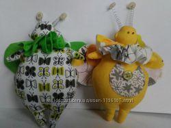 Интерьерные игрушки жук тильда