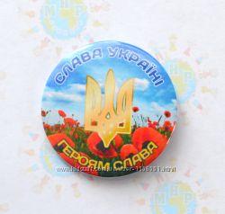 Значки с символикой Украины, гербами городов