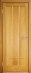Двери в комнату. Шпонированная дверь Трояна ПГ дуб Киев