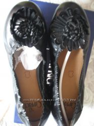 Балетки новые, кожаные,  39 размер, Тамаris
