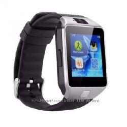 Смарт-часы модели DZ09 - 3-в-1 часы, телефон и фитнес-трекер